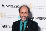 Luca Guadagnino attends the EE British Academy Film Awards (BAFTA) nominees party at Kensington Palace on February 17, 2018 in London, England.