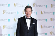 Bryan Cranston poses in the press room during the EE British Academy Film Awards (BAFTA) held at Royal Albert Hall on February 18, 2018 in London, England.