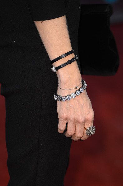Sarah Jessica Parker (bracelets detail) attends the EE British Academy Film Awards at The Royal Opera House on February 10, 2013 in London, England.