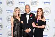 Tony Thomas, Marlo Thomas and guest attend the 34th Annual Ellis Island Medals Of Honor Ceremony hosted by EIHS at Ellis Island on May 11, 2019 in New York City.