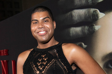"EJ Johnson Premiere Of Universal Pictures' ""The Turning"" - Red Carpet"