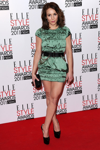 Actress Noomi Rapace attends the 2011 ELLE Style Awards at the Grand Connaught Rooms on February 14, 2011 in London, England.