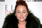 Actress Jamie Winstone attends the 2011 ELLE Style Awards at the Grand Connaught Rooms on February 14, 2011 in London, England.