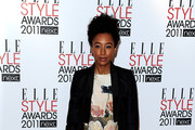 Singer Corinne Bailey Rae attends the 2011 ELLE Style Awards at the Grand Connaught Rooms on February 14, 2011 in London, England.