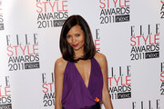 Actress Thandie Newton attends the 2011 ELLE Style Awards at the Grand Connaught Rooms on February 14, 2011 in London, England.