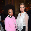 She goes glam with Solange Knowles.