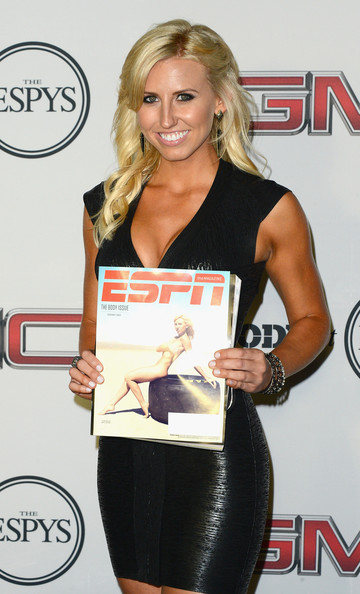 Ashley force espn body issue in this photo courtney force