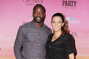 NFL player Charles Tillman (L) and Jackie Tillman attend ESPN the Party at WestWorld of Scottsdale on January 30, 2015 in Scottsdale, Arizona.
