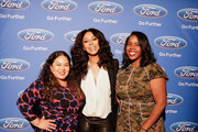 (L-R) Dee Guerrero, Singer Keri Hilson and Danielle Brown from Essence at the ESSENCE + Ford My City 4 Ways - Houston  at White Oak Music Hall on December 01, 2018 in Houston, Texas.