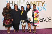 "Susan L. Taylor, Tanya Lombard, Claudia Jones,  Michelle Ebanks,and guest attend ESSENCE & AT&T ""Humanity Of Connection"" event at New York Historical Society on June 10, 2019 in New York City."