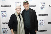 Gina McCarthy, NRDC President and Chief Executive Officer, and Ron Howard attend EW x NRDC Sundance Film Festival Panel Series: Rebuilding Paradise Panel and Reception at Main Street Gallery on January 25, 2020 in Park City, Utah.