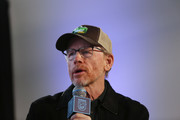 Ron Howard speaks at the EW x NRDC Sundance Film Festival Panel Series: Rebuilding Paradise Panel and Reception at Main Street Gallery on January 25, 2020 in Park City, Utah.