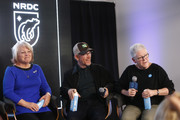 Michelle John, Ron Howard and Gina McCarthy speak on the EW x NRDC Sundance Film Festival Panel Series: Rebuilding Paradise Panel and Reception at Main Street Gallery on January 25, 2020 in Park City, Utah.