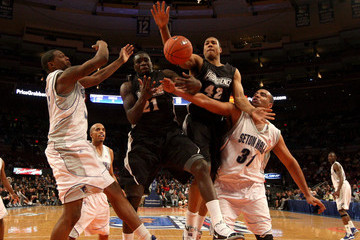 Jamine Peterson Big East Basketball Tournament - First Round