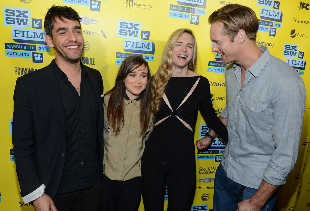 Ellen Page Alexander Skarsgard Photos Photos - Arrivals at ...