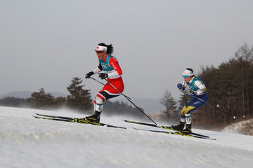 Ebba Andersson Cross-Country Skiing - Winter Olympics Day 1