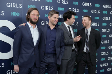 Ebon Moss-Bachrach The New York Premiere of the Sixth and Final Season of 'Girls' - Red Carpet