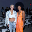 Ebonee Davis Chromat Spring/Summer 2020 New York Fashion Week Runway Show - Front Row