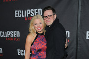 "Actress Megan Hilty (L) and Brian Gallagher attend the ""Eclipsed"" broadway opening night at The Golden Theatre on March 6, 2016 in New York City."