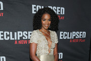 """Actress Kelsey Scott attends the """"Eclipsed"""" broadway opening night at The Golden Theatre on March 6, 2016 in New York City."""