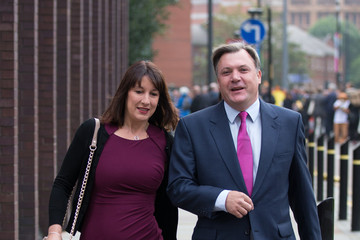 Ed Balls Rachel Reeves Labour Party Annual Party Conference: Day 2