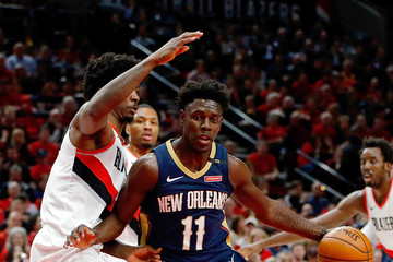 Ed Davis New Orleans Pelicans vs. Portland Trail Blazers - Game Two