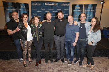Ed Green SiriusXM's The Highway Channel Broadcasts Backstage Leading Up To The ACMs