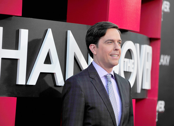 'The Hangover Part III' Premieres in LA — Part 3 [hangover part 3,suit,white-collar worker,businessperson,font,formal wear,technology,event,photography,brand,company,ed helms,arrivals,california,westwood village theater,warner bros. pictures,westwood,premiere,premiere]