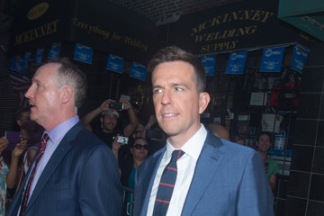 Ed Helms 'The Daily Show With Jon Stewart' #JonVoyage - Arrivals & Departures