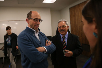 Ed Lee Twitter CEO Dick Costolo and SF Mayor Ed Lee Open New Community Technology Space