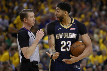 Ed Malloy New Orleans Pelicans vs. Golden State Warriors - Game Five
