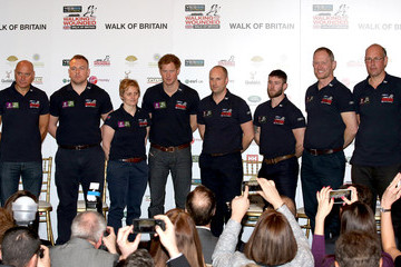 Ed Parker Walking with the Wounded Launch in London — Part 2