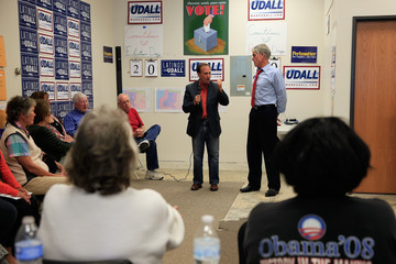 Ed Perlmutter Mark Udall Holds Campaign Rallies