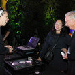 Ed Ruscha Cekebs at the Art for Water Benefit in LA