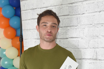 Ed Westwick The Elizabeth Glaser Pediatric AIDS Foundation's Annual 'A Time For Heroes' Family Festival At Smashbox Studios