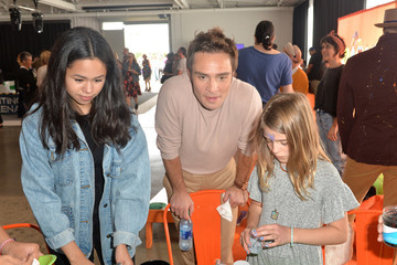 Ed Westwick Elizabeth Glaser Pediatric AIDS Foundation's 30th Annual A Time for Heroes Family Festival