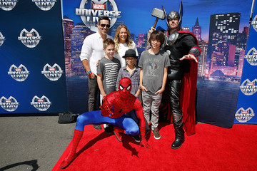 Eddie Cibrian Marvel Universe LIVE! Celebrity Red Carpet Event