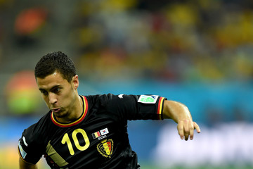 Eden Hazard Korea Republic v Belgium: Group H