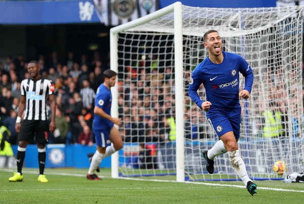 Eden+Hazard+Chelsea+v+Newcastle+United+P