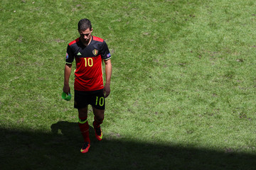 Eden Hazard Belgium v Republic of Ireland - Group E: UEFA Euro 2016