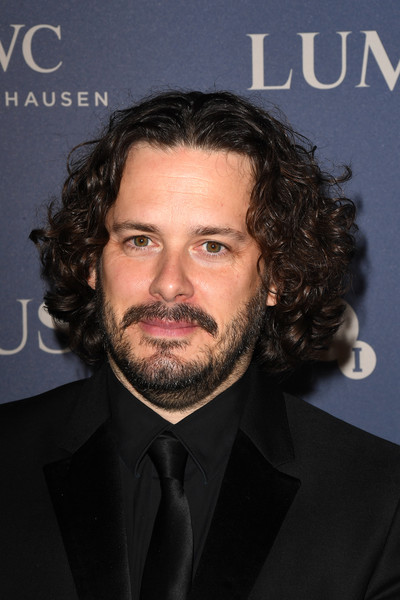 BFI Luminous Fundraising Gala [hair,facial hair,beard,chin,hairstyle,forehead,moustache,suit,long hair,white-collar worker,the roundhouse,london,england,bfi luminous fundraising gala,edgar wright]