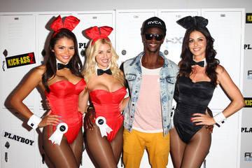 "Edi Gathegi Playboy And Universal Pictures' ""Kick-Ass 2"" Event At Comic-Con Sponsored By AXE Black Chill - Inside"