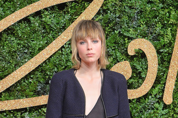 Edie Campbell British Fashion Awards 2015 - Red Carpet Arrivals