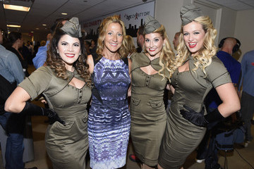 Edie Falco Annual Charity Day Hosted By Cantor Fitzgerald And BGC - BGC Office - Inside