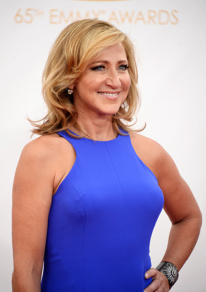 edie falco pictures   arrivals at the 65th annual