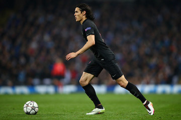 Edinson Cavani Manchester City FC v Paris Saint-Germain - UEFA Champions League Quarter Final: Second Leg