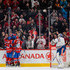 Tom Gilbert Photos - Tom Gilbert #77 of the Montreal Canadiens celebrates his goal with teammates during the NHL game against the Edmonton Oilers at the Bell Centre on February 6, 2016 in Montreal, Quebec, Canada.  The Montreal Canadiens defeated the Edmonton Oilers 5-1. - Edmonton Oilers v Montreal Canadiens