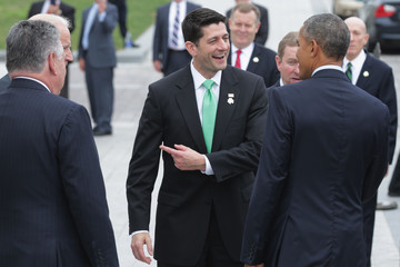 Edna Kenny President Obama Attends Annual Friends of Ireland Luncheon on Capitol Hill