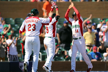 Eduardo Arredondo Italy v Mexico - World Baseball Classic - First Round Group D