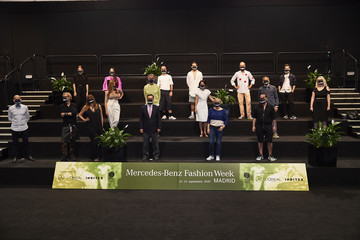 Eduardo Lopez-Puertas Rober Rodriguez Family Picture Presentation - Mercedes Benz Fashion Week Madrid Spring/Summer 21